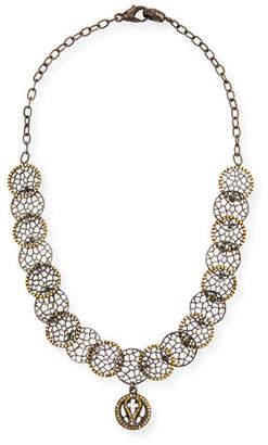 Loree Rodkin 18k Lacy Choker Necklace w/ Diamonds