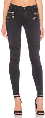 Lovers + Friends Lovers + Friends x REVOLVE Cole Moto Jean in Remington $198 thestylecure.com