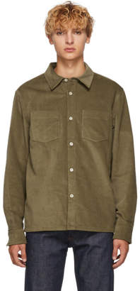 A.P.C. Beige Joe Overshirt