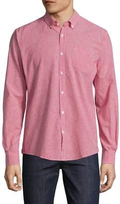 Woolrich Men's Gingham Cotton Sportshirt
