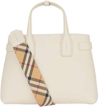Burberry Small Leather Banner Bag