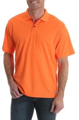 Wrangler Men's Short Sleeve Performance Polo