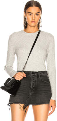 Sablyn Ryder Long Sleeve Cotton Ribbed Tee