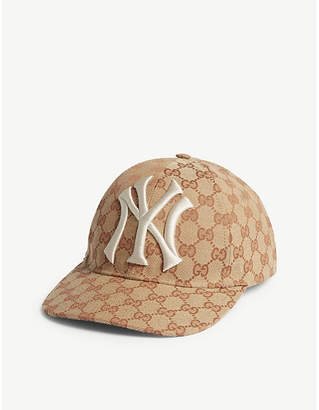 Gucci GG New York Yankees strapback cap