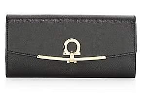 Salvatore Ferragamo Women's Leather Continental Wallet