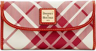 Dooney & Bourke Plaid Continental Wallet