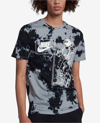 Nike Men's Sportswear Graphic Tie-Dyed T-Shirt