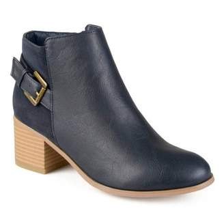 Co Brinley Women's High Heel Buckle Ankle Booties