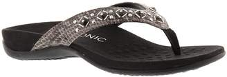 Orthaheel Women's Vionic, Floriana decorated Thong Sandals