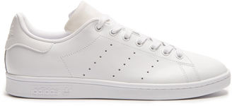 ADIDAS ORIGINALS Stan Smith low-top leather trainers $77 thestylecure.com