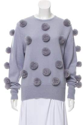 Alice McCall Medium-Weight Pom Pom Knit Sweater