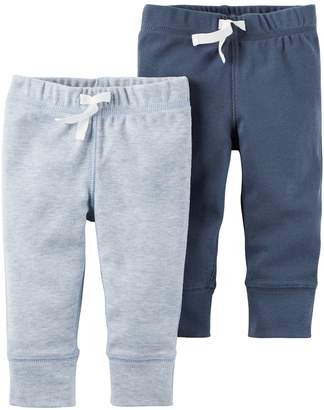 Carter's Baby Boy 2-pk. Solid Pants