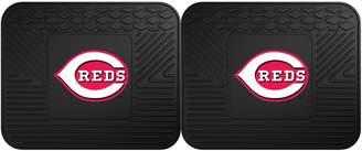 Fanmats FANMATS Cincinnati Reds 2-Piece Backseat Utility Mat Set