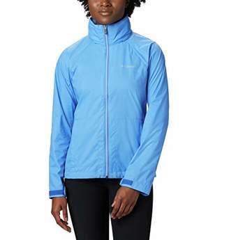 Columbia Women's Plus Size Switchback III Adjustable Waterproof Rain Jacket