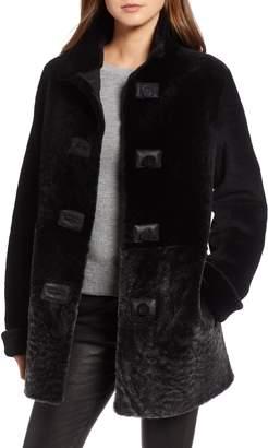 Blue Duck Genuine Shearling Coat