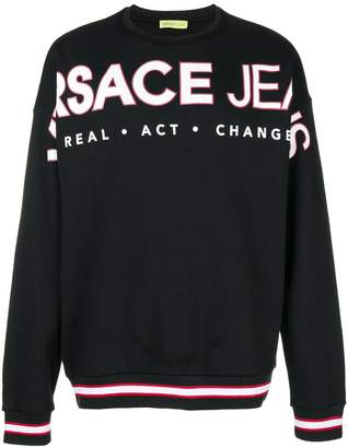Versace Real Act Change sweatshirt