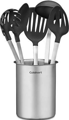 Cuisinart 6-pc. Stainless Steel Crock and Nylon Utensil Set