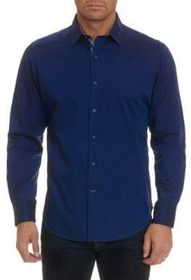 Robert Graham Bridgeman Long-Sleeve Woven Button-Down Shirt
