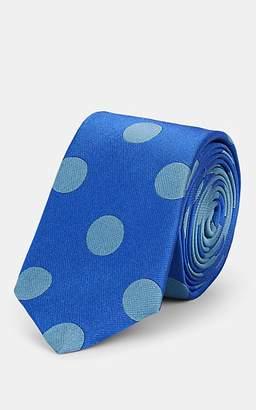 4edf1f9279ed Paul Smith Men's Polka Dot Silk Necktie - Blue