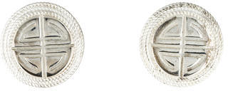 GivenchyGivenchy Round Logo Clip-On Earrings