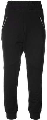 Baja East zip pocket track pants