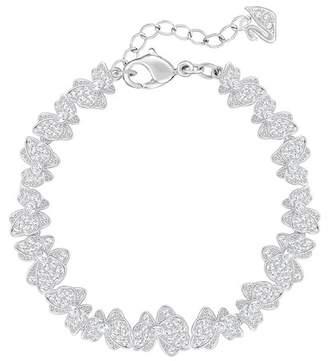 Swarovski Gemina Pave Crystal Butterfly Bracelet
