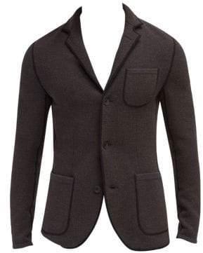 EFM-Engineered for Motion Copley Wool Knit Blazer