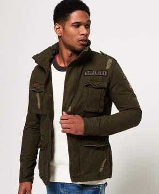 Rip & Repair Rookie Military Jacket