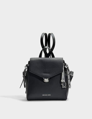 MICHAEL Michael Kors Bristol Small Backpack in Black Pebble Leather