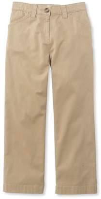 L.L. Bean L.L.Bean Easy-Stretch Pants, Twill Cropped