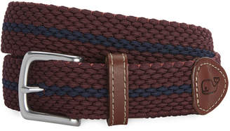 Vineyard Vines Collegiate Stripe Bungee Belt