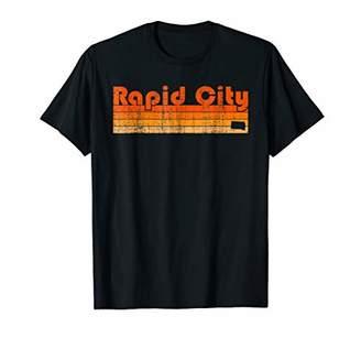 Retro 80s Style Rapid City SD T-Shirt