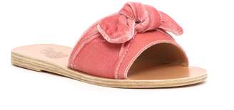 Ancient Greek Sandals Velvet Mule