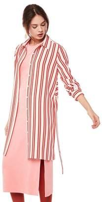 Juicy Couture Bold Stripe Shirtdress