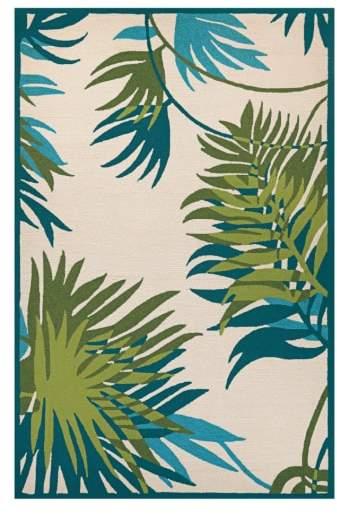 Jungle Leaves Indoor/Outdoor Rug