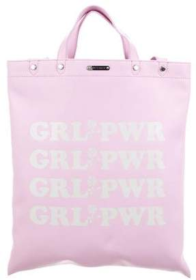 Rebecca Minkoff 2018 Girl Power North/South Leather Tote