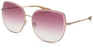 Barton Perreira Espirutu Gradient Butterfly Sunglasses