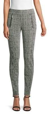 MICHAEL Michael Kors Front Zip Leggings