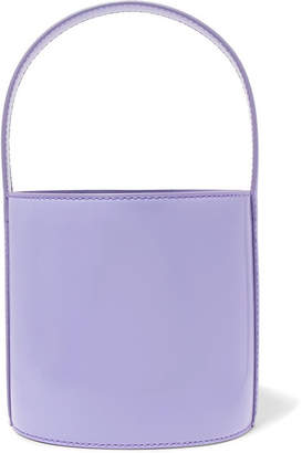 STAUD - Bissett Patent-leather Bucket Bag - Lavender
