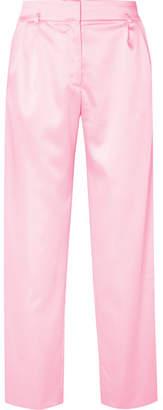 Koché Satin Wide-leg Pants