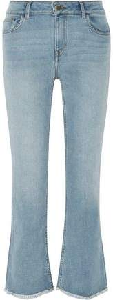 Paxi Faded High-Rise Bootcut Jeans