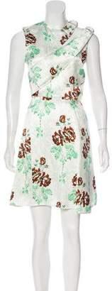 Victoria Beckham Satin Mini Dress w/ Tags