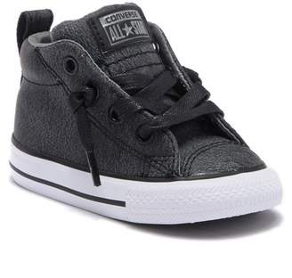 Converse Street Mid Leather Sneaker (Baby & Toddler)