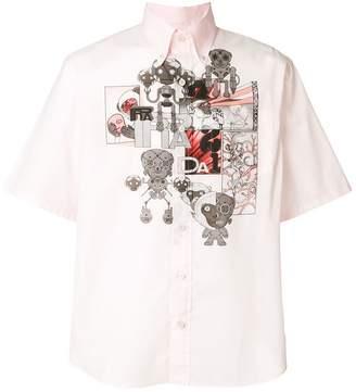Prada robot print shirt