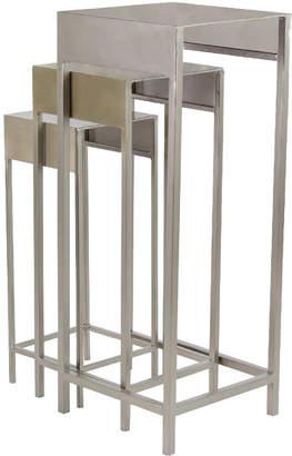 UMA Enterprises Uma Enterprises Set Of 3 Iron Plant Stands