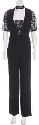 The Kooples High-Rise Accented Jumpsuit