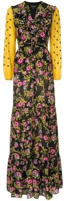 Saloni Ginny floral dress