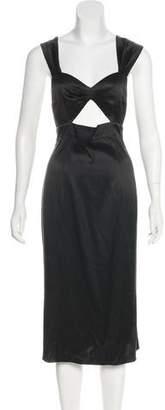 Agent Provocateur Silk Midi Dress