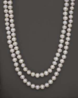 """Bloomingdale's Cultured White Freshwater Pearl Necklace, 52"""""""