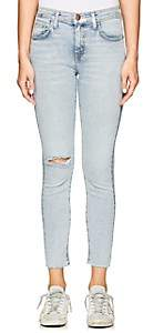 Current/Elliott WOMEN'S THE HIGH WAIST STILETTO SKINNY JEANS - BLUE SIZE 29
